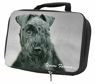 Kerry Blue Terrier 'Yours Forever' Black Insulated Lunch Box, AD-KB1yLBB
