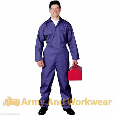 Adults Pro Coverall Overall Boiler Suit Tuff Workwear Mens Boilersuit Mechanic