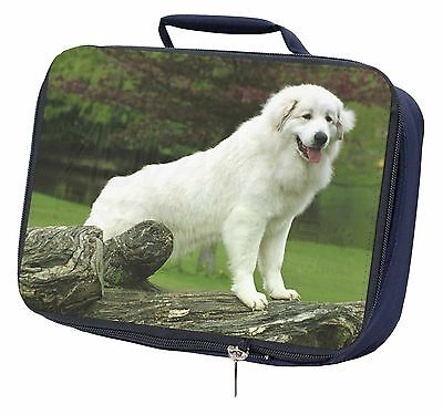 Pyrenean Mountain Dog Navy Insulated Lunch Box, AD-PM1LBN