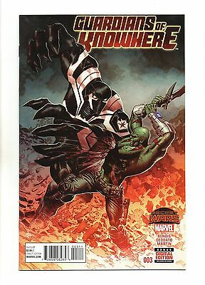 Guardians of Knowhere Vol 1 No 3 Oct 2015 (NM) Marvel, Secret Wars, 1st Print