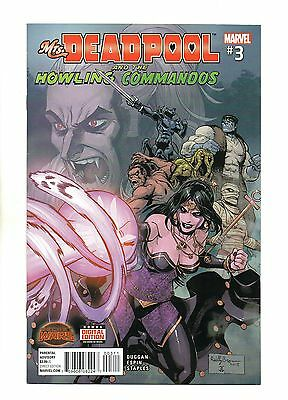 Mrs Deadpool and the Howling Commandos Vol 1 No 3 Oct 2015 (NM)Secret Wars,1prnt