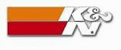 "K&N Decal Air Filter OEM 4.5"" clear Automotive Stickers"