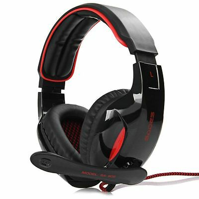 Sades SA - 902 7.1 Sound Channel USB Gaming Headset with Mic Voice Control AUS