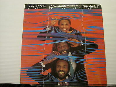 THE O'JAYS When Will I See You Again PIR RECORDS VINYL LP Free UK Post