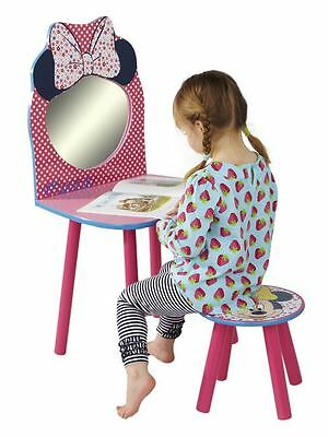 Disney Minnie Mouse Dressing Table And Chair - Childrens Free P+P