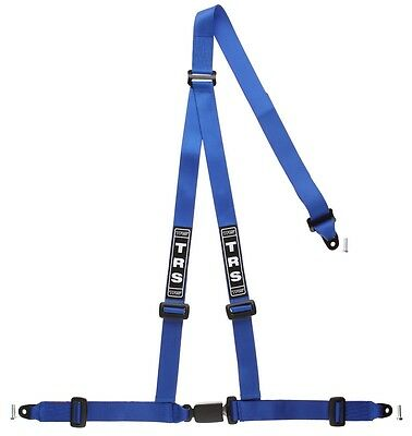 TRS Bolt-In Budget 3 Point Harness BLUE - Road Legal ECE Approved (Saloon)