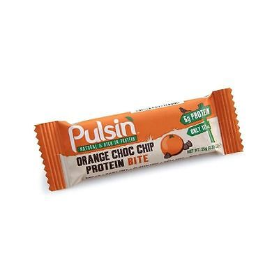 Pulsin Orange Choc Chip Protein Bite 25g