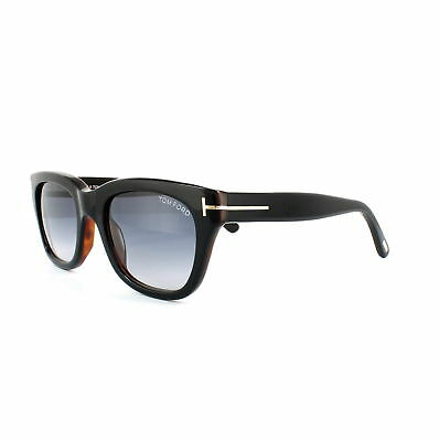 f41fa43112 Tom Ford Sunglasses 0237 Snowdon 05B Black   Brown Smoke Grey Gradient