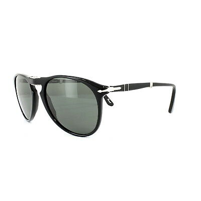 144ac10ee5 PERSOL SUNGLASSES 9714 95 58 Black Grey Green Polarized -  198.00 ...