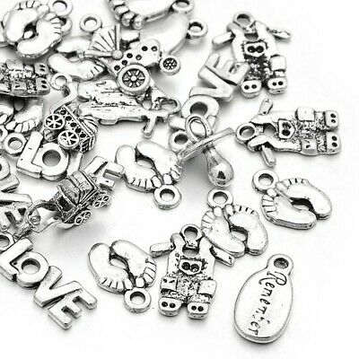 Baby Charm/Pendant Tibetan Antique Silver 5-40mm  20 Grams Accessory Jewellery