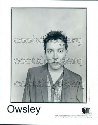 1999 Singer Songwriter Guitarist Will Owsley Press Photo