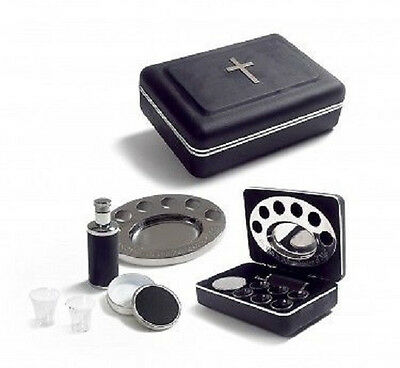 Communion Set Remembranceware Legacy Portable - Black - Lords Supper NEW!