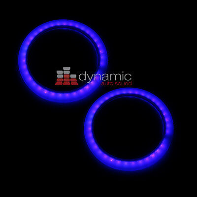 "Wet Sounds LED KIT 6 BLUE Marine LED Rings (Pair) for 6.5"" Coaxial Speakers New"