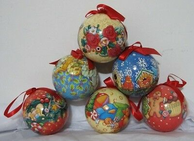 Mary Engelbreit Christmas Collection, 12 Ornaments ME 211