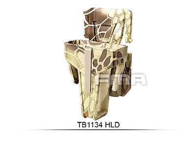 High Quality Highlander Pouch For M4/Molle Paintball War Games H1134