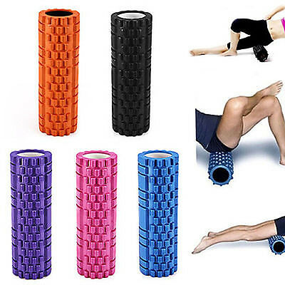 EVA Physio Yoga Foam Roller Pilates Gym Home Exercise Trigger Point Massage US