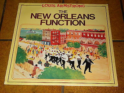 Louis Armstrong - The New Orleans Function - Lp Neu!!