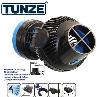+ Tunze 6045.000 Turbelle nanostream 6045 4500 l/h nur 5-7 Watt incl. Flow Contr