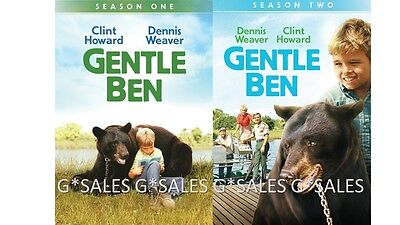 Gentle Ben Complete TV Series Seasons 1-2 (1 & 2) NEW 8-DISC BUNDLE DVD SET