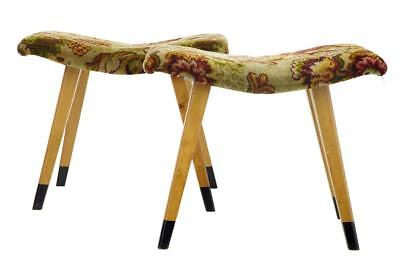 PAIR OF 1960's BIRCH SHAPED STOOLS BY FORM STAD