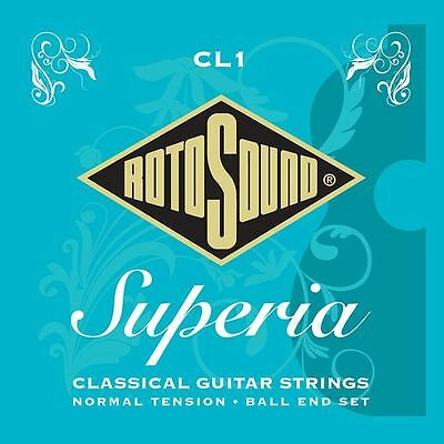 Rotosound CL1 Superior Nylon Ball End Classical Guitar Strings - Made in the UK