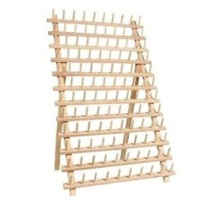 120 Spool Wooden Thread Rack For Small Thread Cones Embroidery Threads