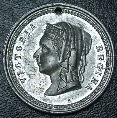1837-1887 VICTORIA MEDAL - Comm. of the Jubilee Reign of Queen Victoria - SCARCE