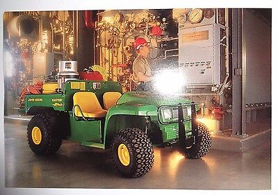 *John Deere Dealers 4x2 Gator Postcard New Old Stock!1997 literature advertising
