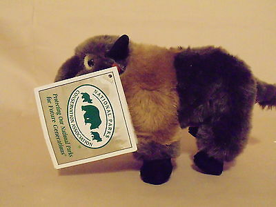 National Parks Conservation Association Bison Buffalo Plush Animal Toy NWT