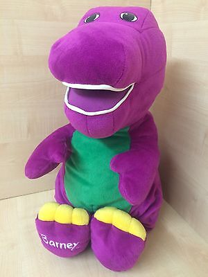 Fisher Price Jumbo Talking Barney 20 Inch Soft Toy
