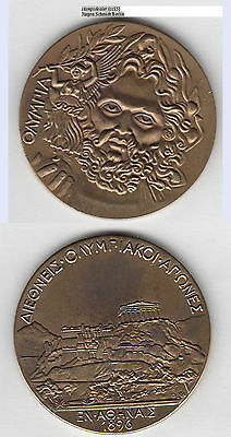 OLYMPIADE ATHEN 1896 Medaille NACH AFTER 1945 ca. 50,65 g, ca. 50 mm (cc15)