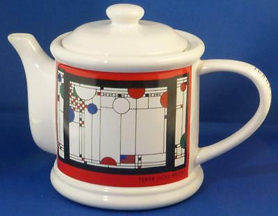 """Frank Lloyd Wright White Teapot Masterpiece Collection Art Institute Chicago 6"""""""