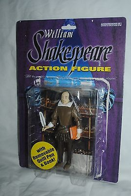 William Shakespeare action figure, Accoutrements, rough package