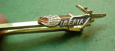 "Iberia Air Lines Pilot Tie Bar 2"" Near Mint Condition  #i2  Pf227B"