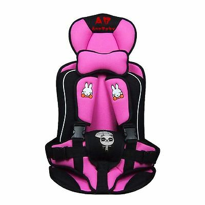 The Most Safe Practical Portable Safety Infant Child Baby Car Seat Pink