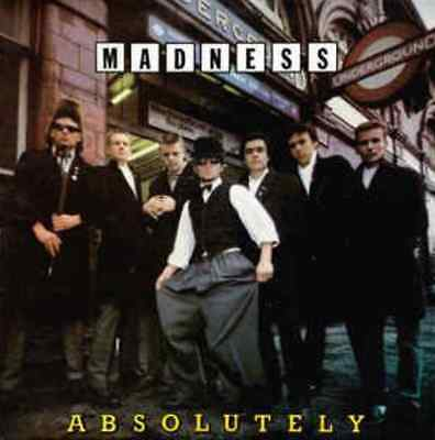 MADNESS - Absolutely (LP) (Withdrawn Sleeve) (VG-/VG)