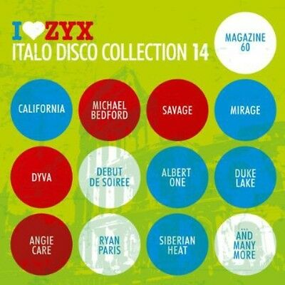 Various Artists - ZYX Italo Disco Collection 14 / Various [New CD]