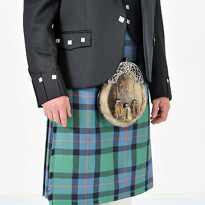 Flower Of Scotland 8 Yard Wool Made in Scotland Kilt Only £299 All Sizes 4 £199