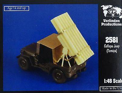 VERLINDEN PRODUCTIONS #2581 Conversion Set for Tamiya Kit Callope Jeep in 1:48