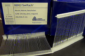 "3"" Avery Dennison 08952 Swiftach Barbs (15000 Pieces)"