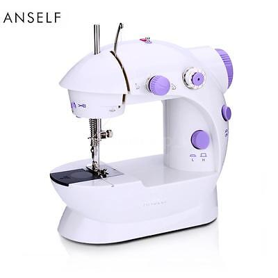 ANSELF Mini Electric Sewing Machine with Light for DIY Craftspeople EU Plug G1J3