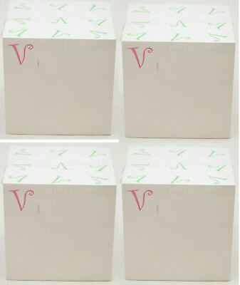 "2400 Post-It SHEETS Notepad The Letter V White Sticky Notes 3"" Square Office NEW"