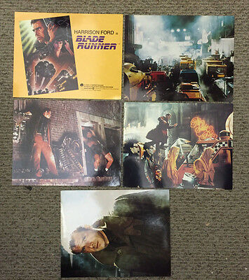 Blade Runner - Original Booster Set Of 8X10 & 11X14 Lobby Cards - Harrison Ford