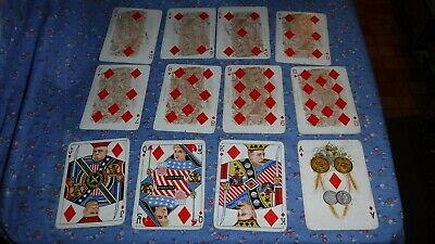 Rare Anheuser Busch Spanish American War 1899 Playing Cards Diamonds Adm Schley