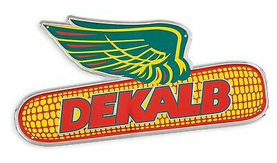 DEKALB SEED *24 INCH VINTAGE ALUMINUM SIGN* Full Color *BRAND NEW!*