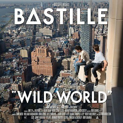 BASTILLE 'WILD WORLD' Double VINYL LP + Booklet (2016)