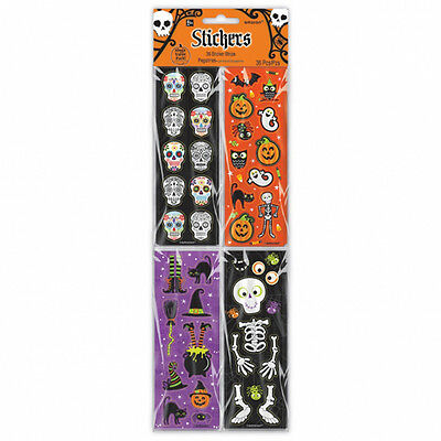 36 Halloween Stickers Party Favours Trick or Treat Gifts Loot Fillers Party Gift
