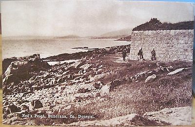 Irish Postcard NED'S POINT Fort Lough Swilly Buncrana DONEGAL Ireland CTC Ltd.