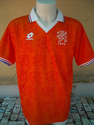 Maglia Calcio Olanda Holland World Cup 1994 Lotto Vintage Shirt Maillot Camiseta