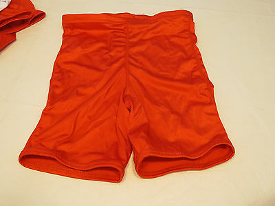 Game Gear NL111 compression shorts sliding 1 pair athletic sports M red NOS